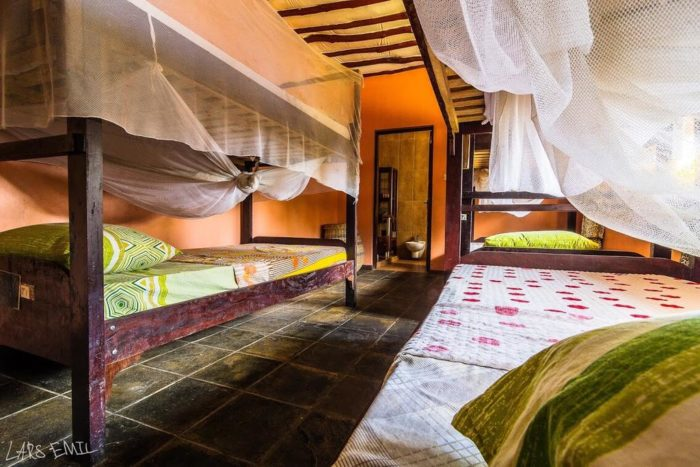 1 Bed in Jacuzzi Dorm