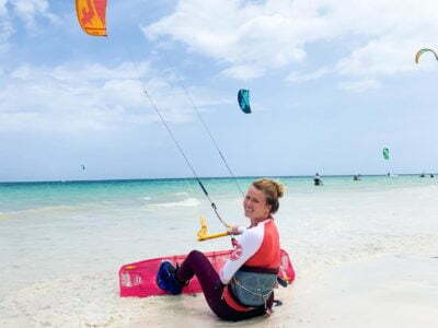 Photo of Kitesurfing 🌊 Individual lesson – 1HR