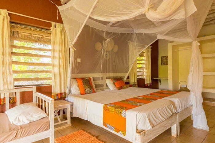 Deluxe 6 bedroom villa with garden view (13-14pax)